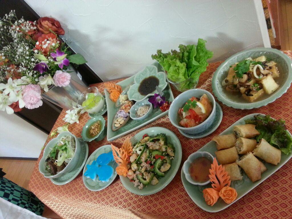ワサナ先生のタイ料理