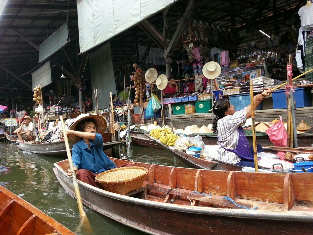 楽園二日目水上マーケット20140612