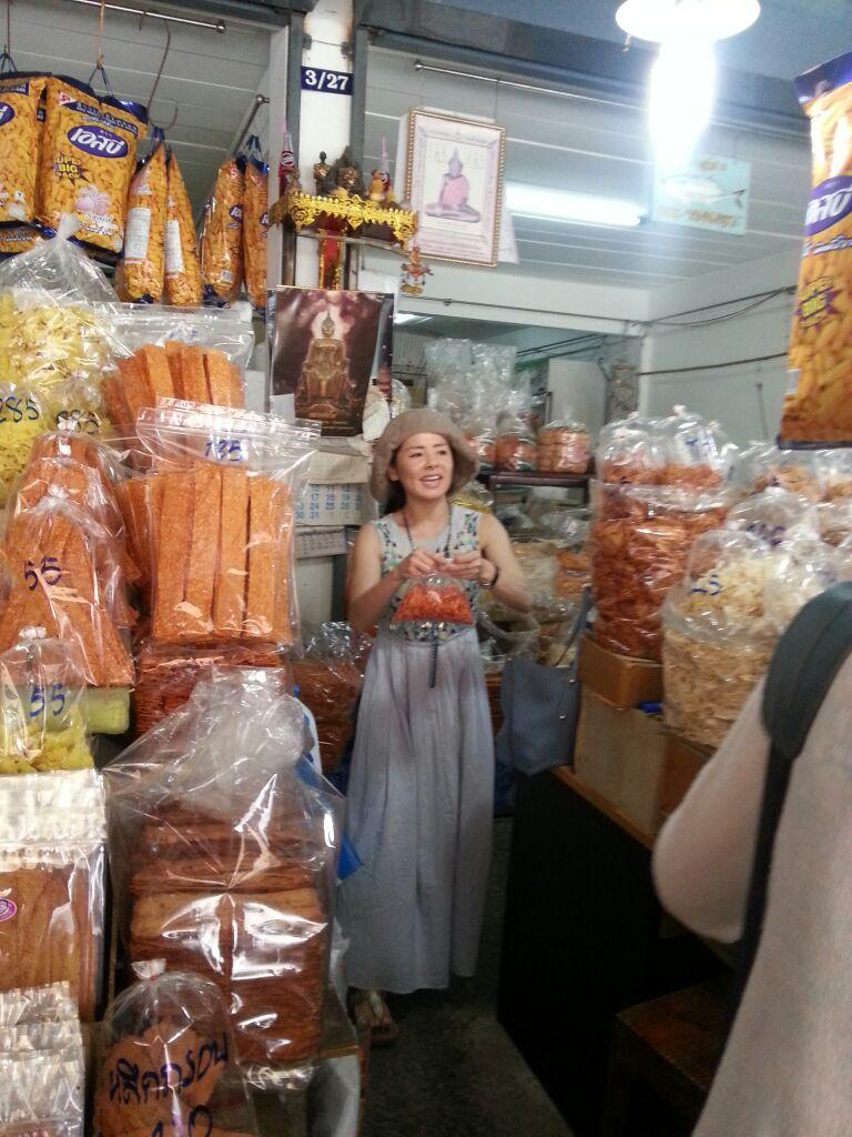 楽園二日目ドーンホーイロート市場