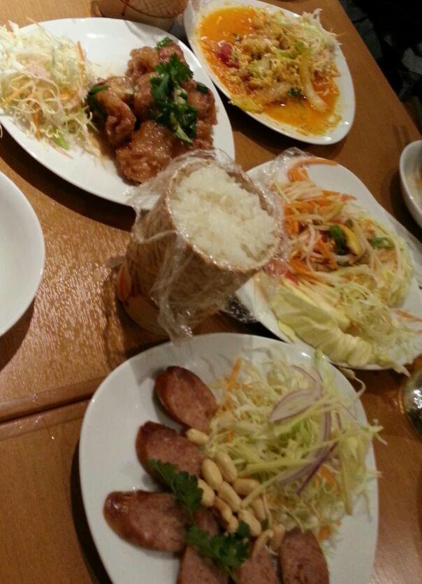 楽しいレッスンと美味しいタイ料理