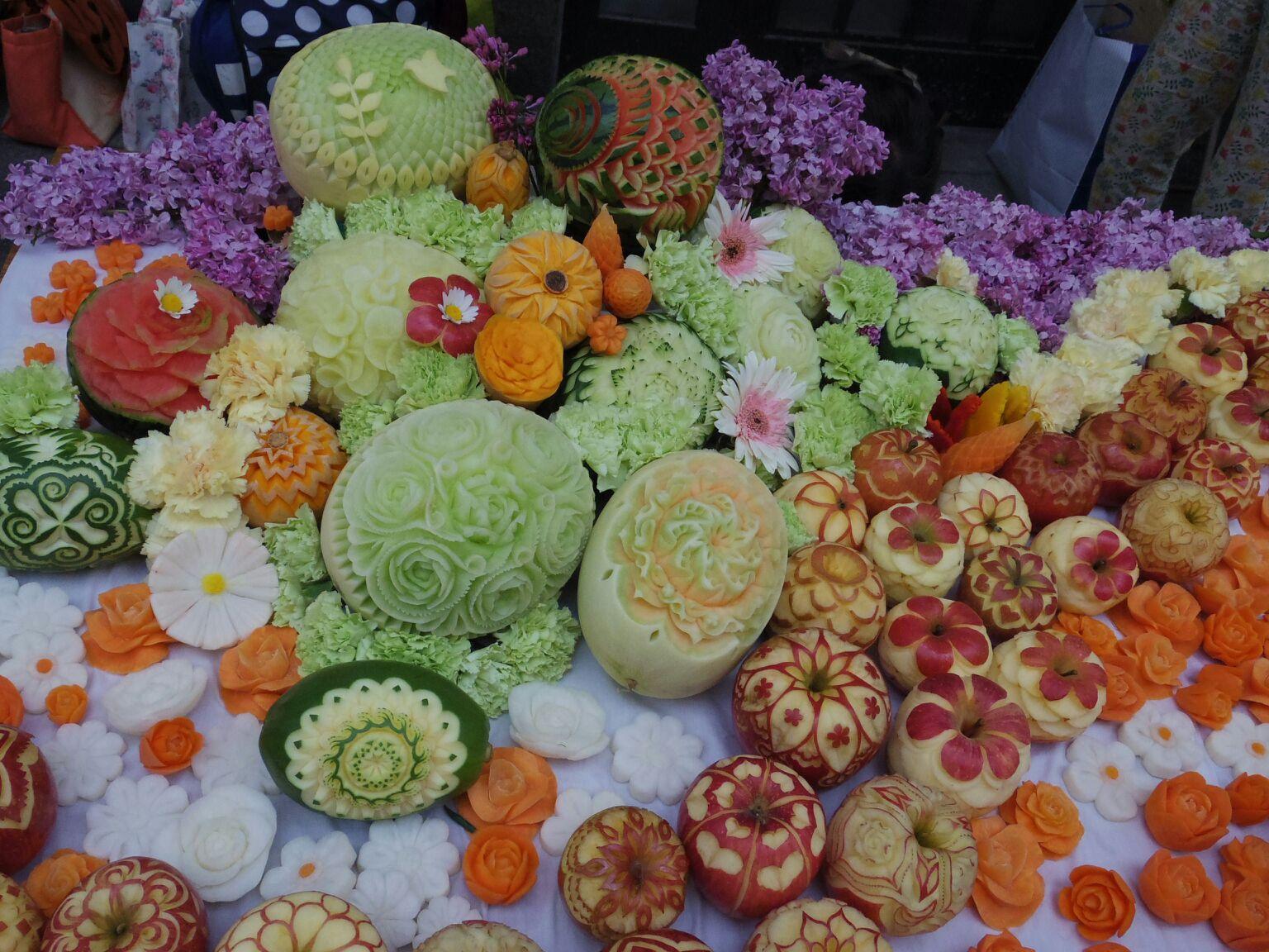 花回廊への彫る会満席となりました