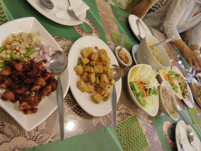 タイ東部の旅日記さよならディナー