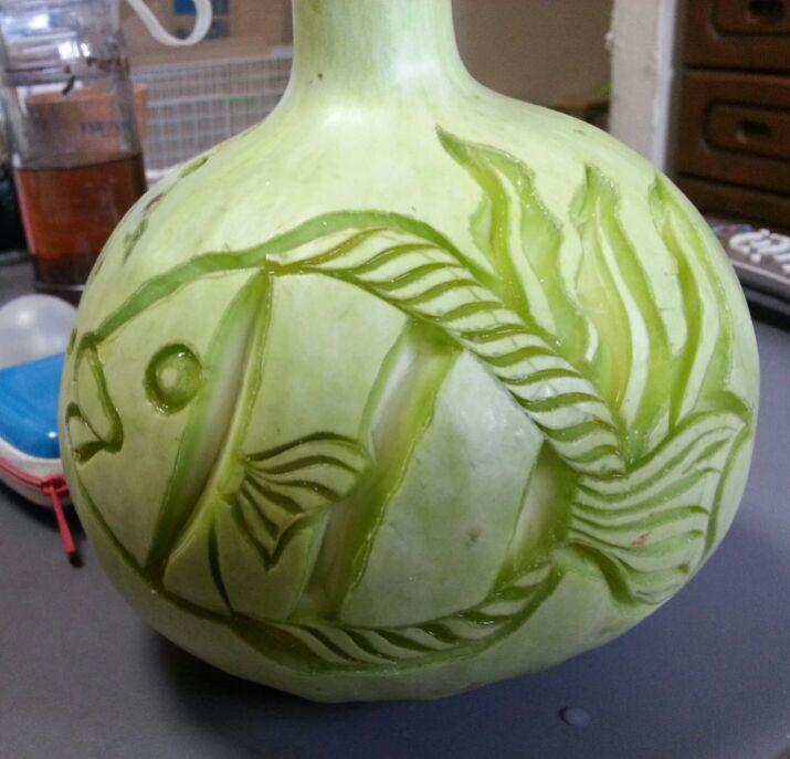 野菜のランタンの作り方